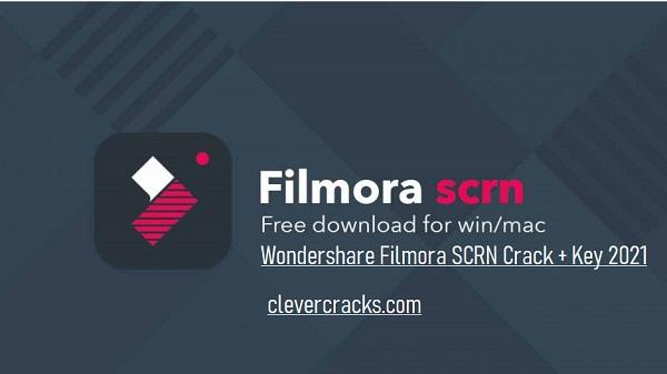 Wondershare Filmora Scrn Crack Download 2021